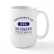 Property of Huskies Mug