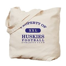 Property of Huskies Tote Bag