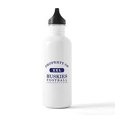 Property of Huskies Water Bottle