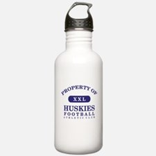 Property of Huskies Water Bottle