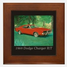 69 Red Charger Painting Framed Tile