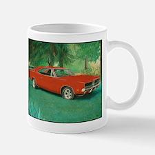 69 Red Charger Painting Mug