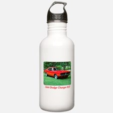 69 Red Charger Photo Water Bottle