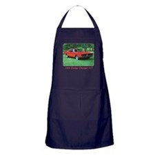 69 Red Charger Photo Apron (dark)