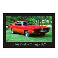 69 Red Charger Photo Postcards (Package of 8)