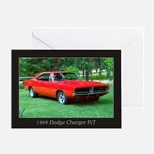 69 Red Charger Photo Greeting Card