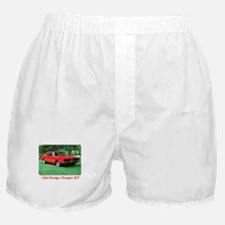 69 Red Charger Photo Boxer Shorts