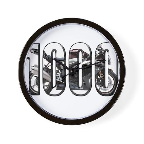 Suzuki GSXR 1000 Black Wall Clock