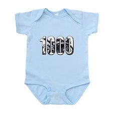 Suzuki GSXR 1000 Black Infant Bodysuit