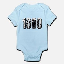 Suzuki GSXR 1000 Black Infant Bodysuit