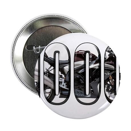 """Suzuki GSXR 1000 Black 2.25"""" Button (100 pack)"""