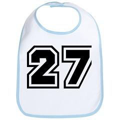 Varsity Uniform Number 27 Bib