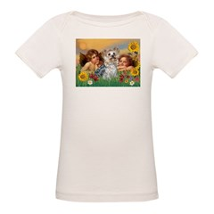 Angels with Yorkie Tee