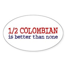 Half Colombian Decal