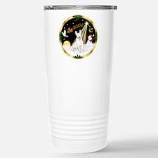 Night Flight/Bull Terrier Travel Mug
