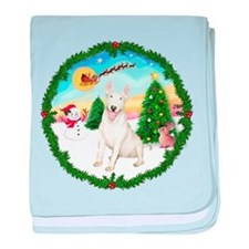 Take Off1/Bull Terrier baby blanket