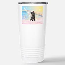 Clouds/Cairn Terrier Travel Mug