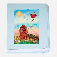 Kite /Cavalier baby blanket