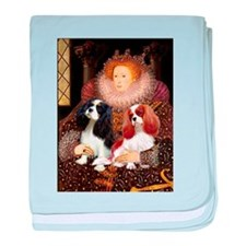 Queen & Cavalier Pair baby blanket