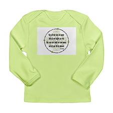 Irish Blessing Long Sleeve Infant T-Shirt