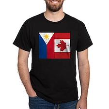 PI Flag & Canada Flag T-Shirt