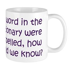 Misspelled word in Dictionary Mug
