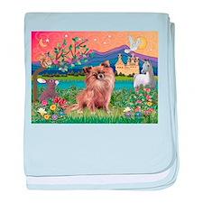 Fantasy Land / Chihuahua baby blanket