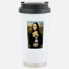 Mona's Chihuahua (BT) Stainless Steel Travel Mug