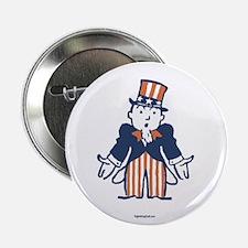 "Broke Uncle Sam 2.25"" Button (10 pack)"