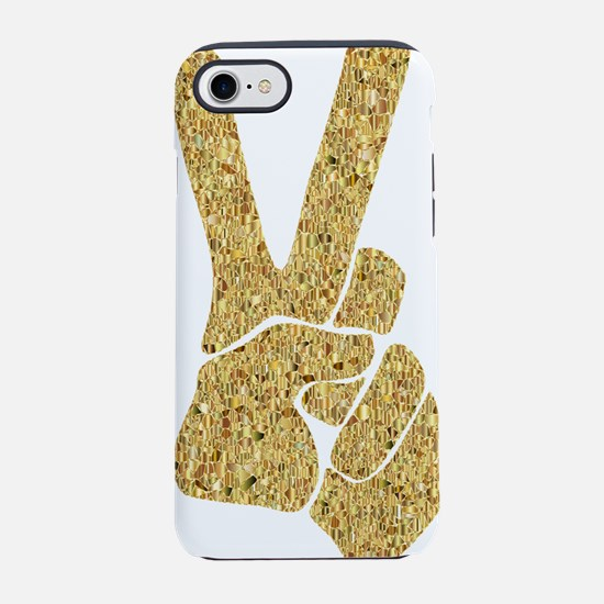 peace iPhone 7 Tough Case