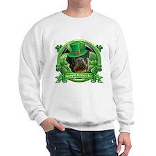 Happy St. Patrick's Day Rottweiler 3 Sweatshirt