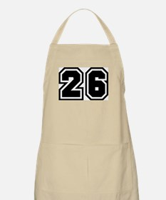 Varsity Uniform Number 26 BBQ Apron