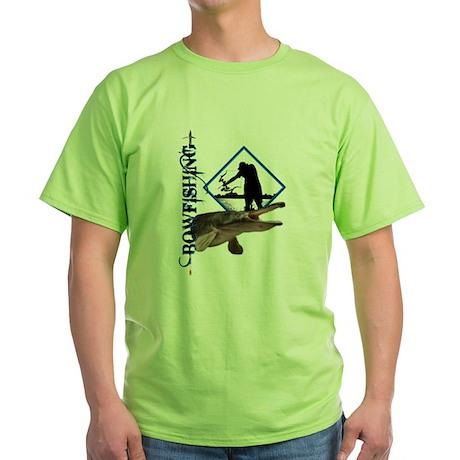 Bowfishing Green T-Shirt
