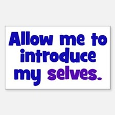 Introduce My Selves Decal