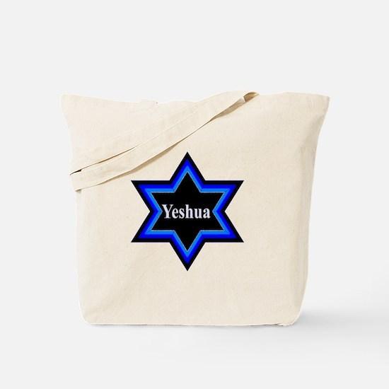 Yeshua Star of David Tote Bag