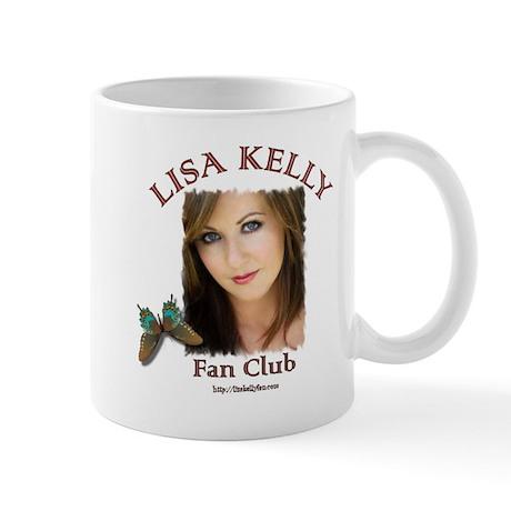 Lisa Kelly Fan Club Mug