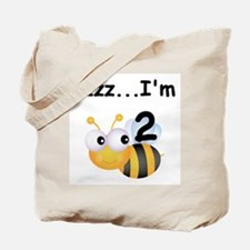 Buzz Bee 2nd Birthday Tote Bag