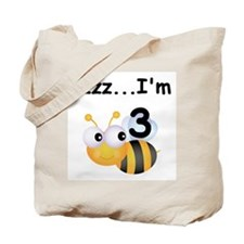 Buzz Bee 3rd Birthday Tote Bag
