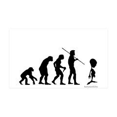 Alien Evolution 38.5 x 24.5 Wall Peel