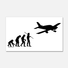 Airplane Evolution 22x14 Wall Peel
