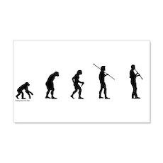 Clarinet Evolution 22x14 Wall Peel