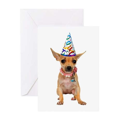 Chihuahua Party Greeting Card