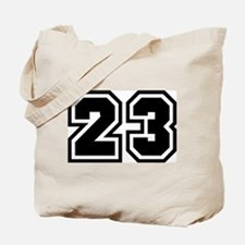 Varsity Uniform Number 23 Tote Bag