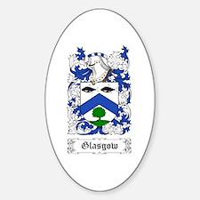 Glasgow Sticker (Oval)
