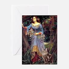 Ophelia / Greeting Card