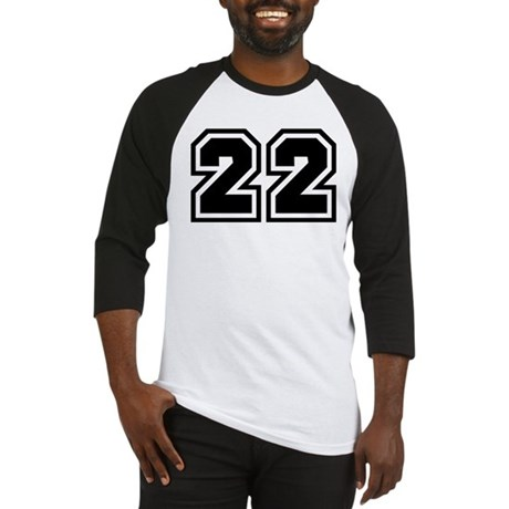 Varsity Uniform Number 22 Baseball Jersey   CafePress.com