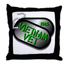 1965 Vietnam Vet Throw Pillow