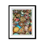 Pysanky Group 2 Framed Panel Print