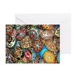 Pysanky Group 2 Greeting Cards (Pk of 10)