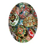Pysanky Group 2 Ornament (Oval)